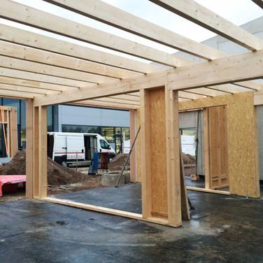 Holzrahmenbau / schlüsselfertiges Bauen