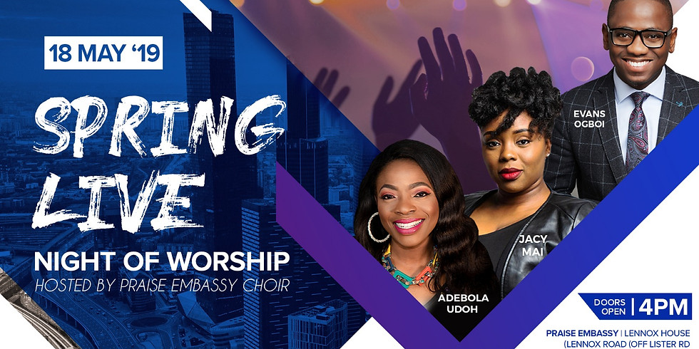 Spring Live 2019 - a special night of worship