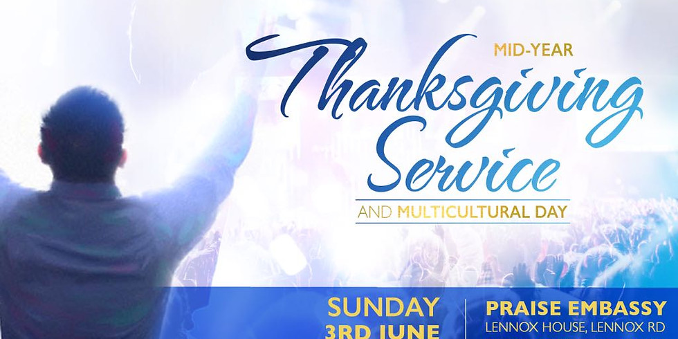 Mid-Year Thanksgiving and Multicultural Service
