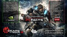 Gears 4 terá o maior teste que o PC Facts já fez