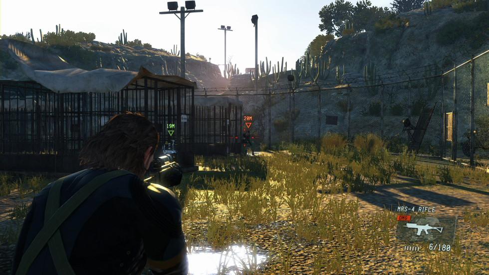 MGS V rodando no PlayStation 4 e Xbox One