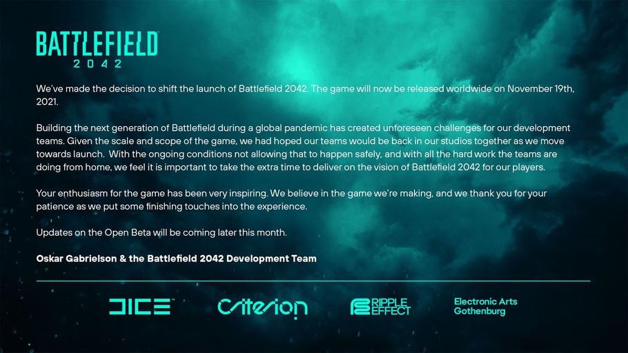 Adiados! Battlefield 2042 e Dying Light 2 têm novas datas…