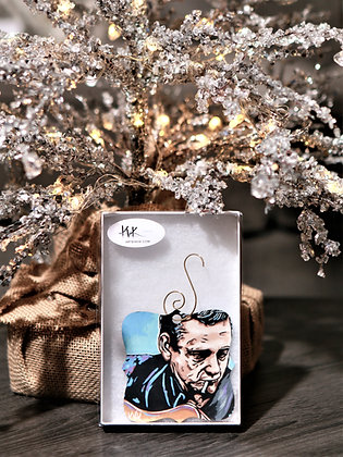 Christmas Ornaments Celebrity Portraits