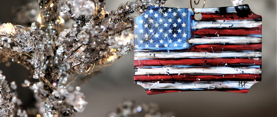 Christmas Ornaments Sports/Patriotic
