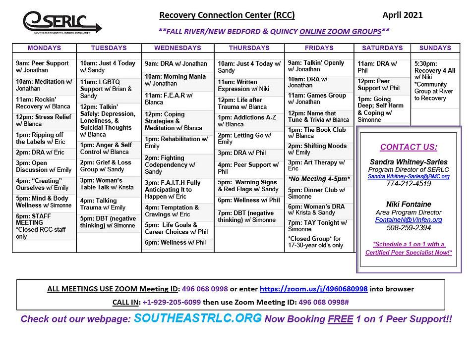 April 2021 Quincy-FR-NB schedule 21024_1