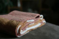 Hand-Dye Stripe Cowl