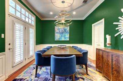 Northwest Hills/Austin Dining Room