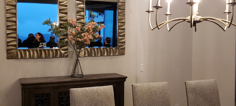 Parade of Homes Austin - Dining Room & Wine Room