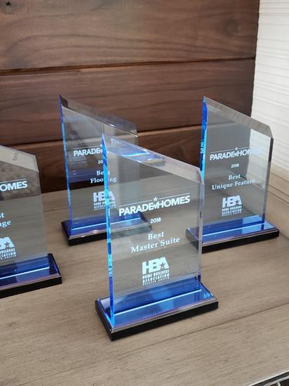 Parade of Homes Awards
