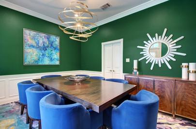 Northwest Hills/Austin Dining Room