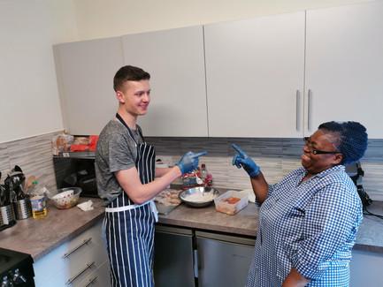HOYCC kitchen cooking class