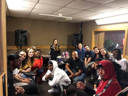 HOYCC - music studio W-ton NAC youth group