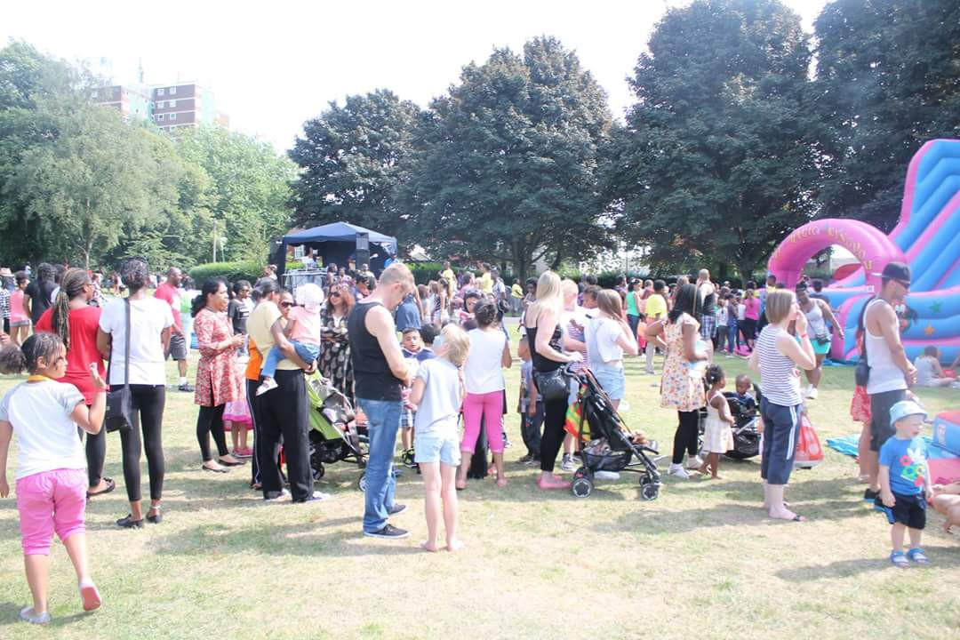 BBQ in the Park - Grange Park, Dudley