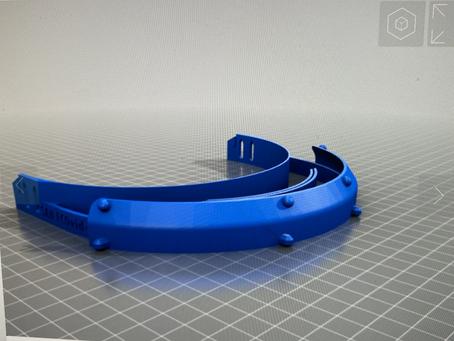 海外医療機関で使われてる3Dプリンターフェイスシールド検証