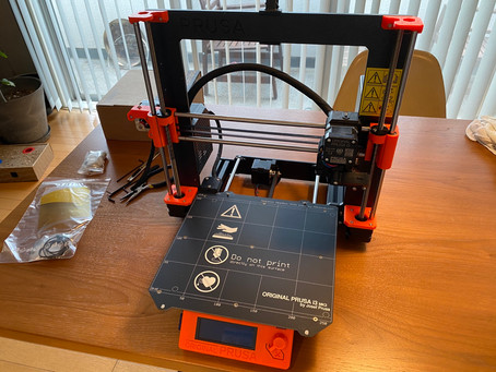 3Dプリンターの一台修理中!