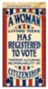 2003_Registered Woman Voter Sign.jpg
