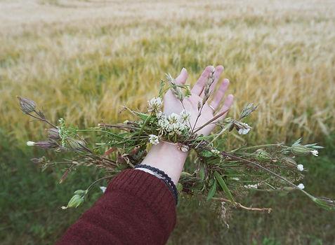 Floral bracelet; Victoria Strukovskaya.J