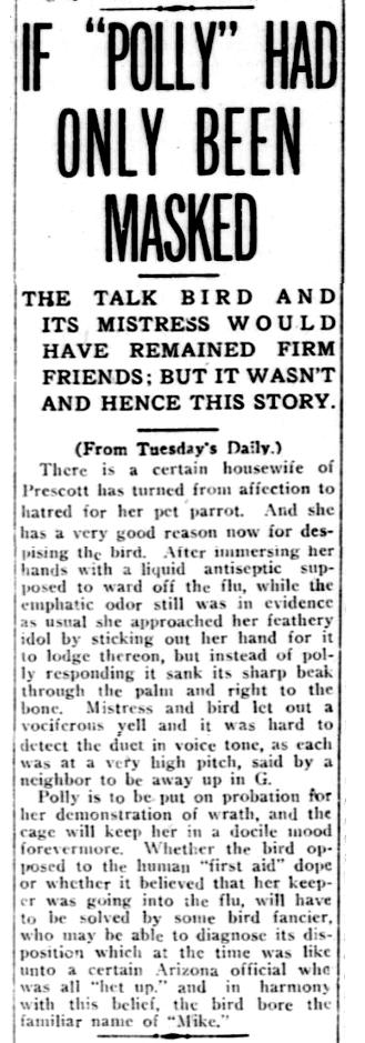 Prescott Journal-Miner, Dec. 11, 1918