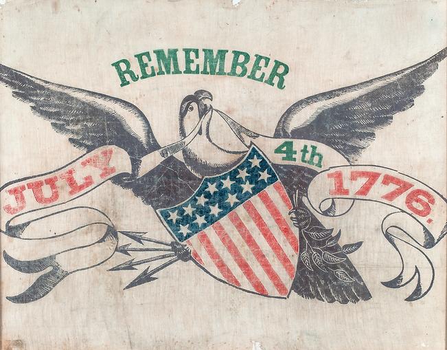5004_Remember July 4th 1776 banner Color