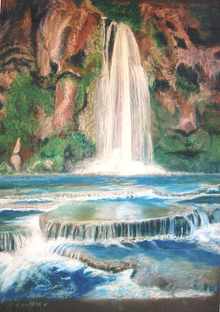 Havasu Falls, pencil, backup .jpg