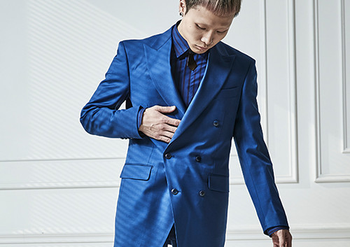 MEYOOMI_미유미_Royalblue_suit_Trend Over