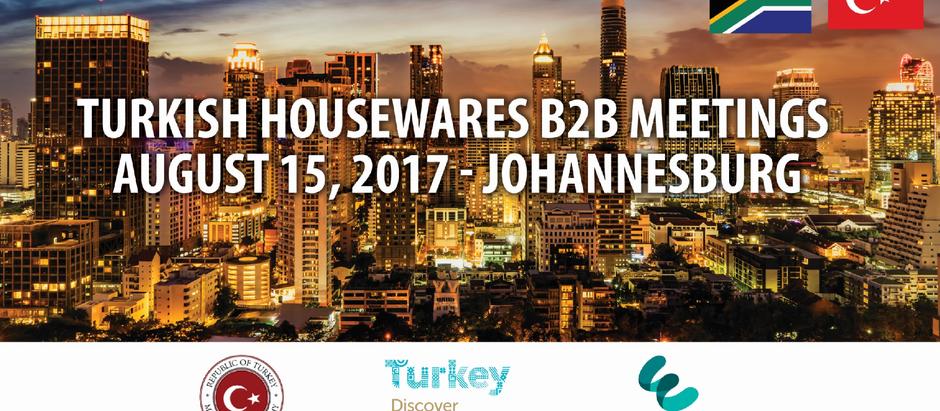 Türk Ev ve Mutfak Eşyaları Üreticileri G.Afrika Pazarında Yoğun İlgi Gördü
