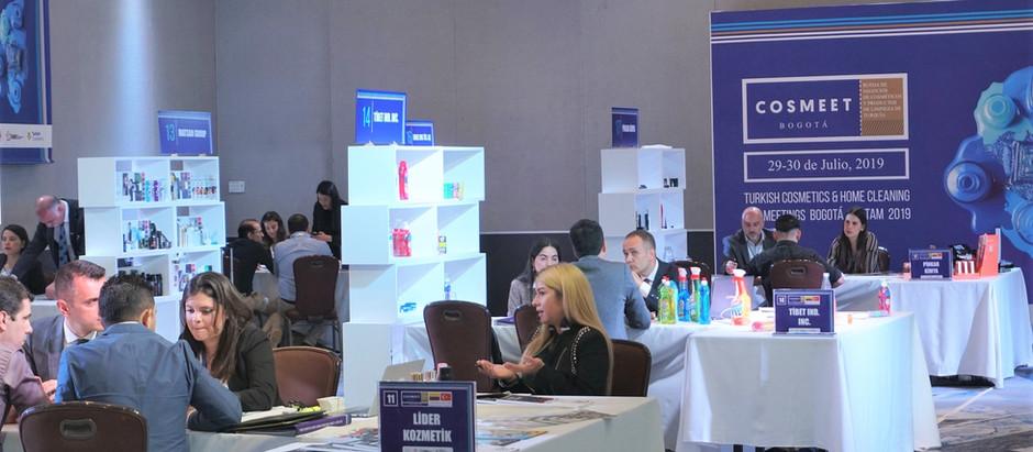Kozmetik ve Temizlik Ürünleri İhracatçıları Latin Amerikalı Alıcılarla Cosmeet Bogota'da Buluştu