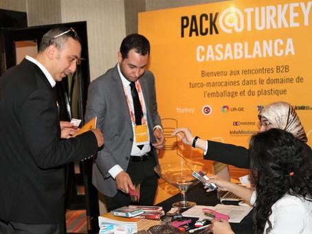 Pack@Turkey Takımı Fas Pazarında Güçlü İşbirlikleri Kurmayı Hedefliyor.