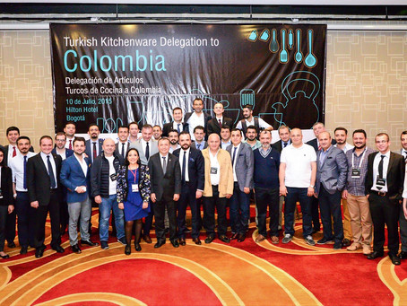 Türk Ev ve Mutfak Eşyaları Sektörü Latin Amerika Pazarını Hedefliyor