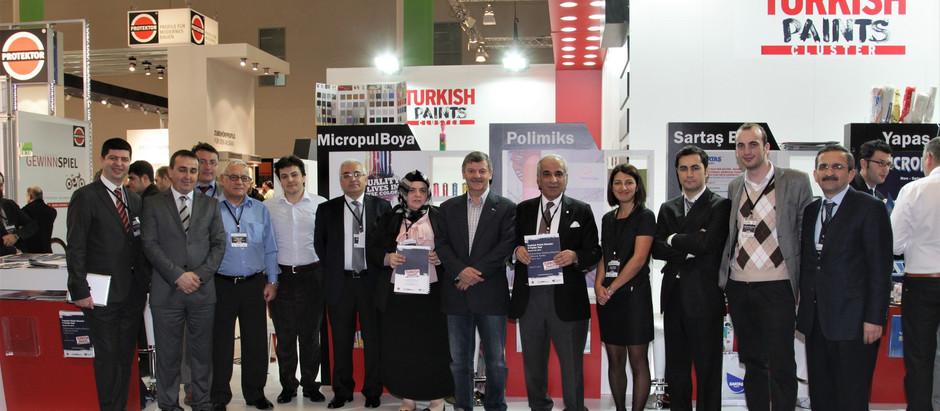 Turkish Paints Cluster Katılımcıları Farbe 2013 Fuarında Avrupalı Alıcılar ile Buluştu.