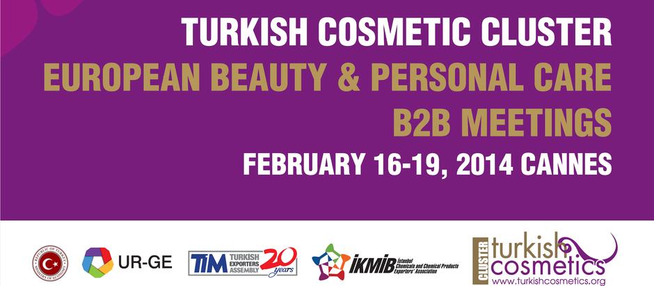 Türk Kozmetik Sektörü ECRM European Beauty & Personal Care İş Görüşmeleri Programına Katıldı