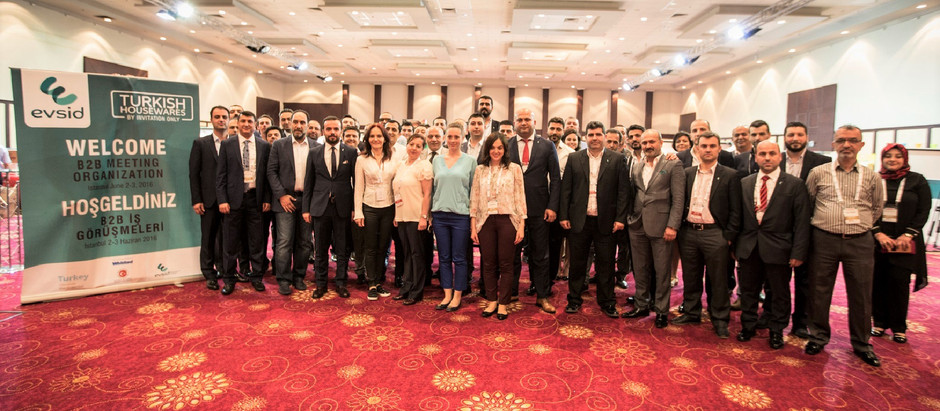 Türk Ev ve Mutfak Eşyaları Sektörü Yabancı Alıcılar ile İstanbul'da Buluştu