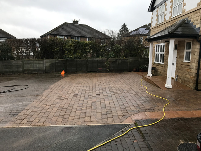 Driveway and Patio Cleaning in Ilkley