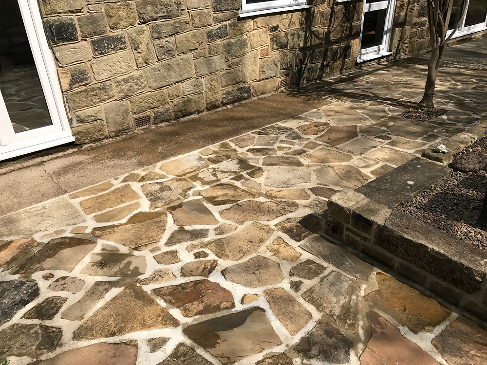 Patio Cleaning in Harrogate, North Yorkshire