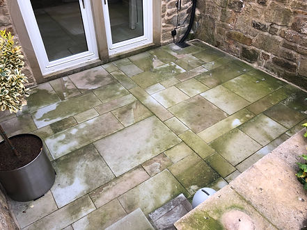 Patio and Natural Stone Cleaning In Bradford, Leeds, Ilkley and West Yorkshire