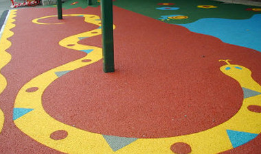 Commercial Services: Playground Surface Cleaning
