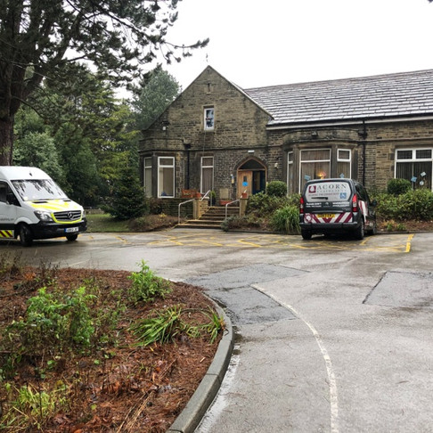Commercial & Domestic Window Cleaning Yorkshire Sue Ryder Oxenhope