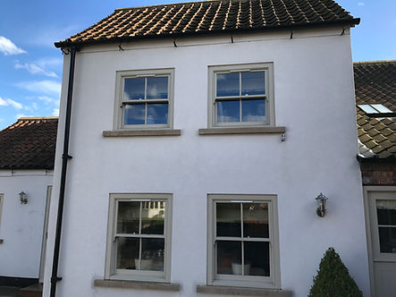 Domestic Render Cleaning in Bradford, Ilklet, Leeds and West Yorkshire