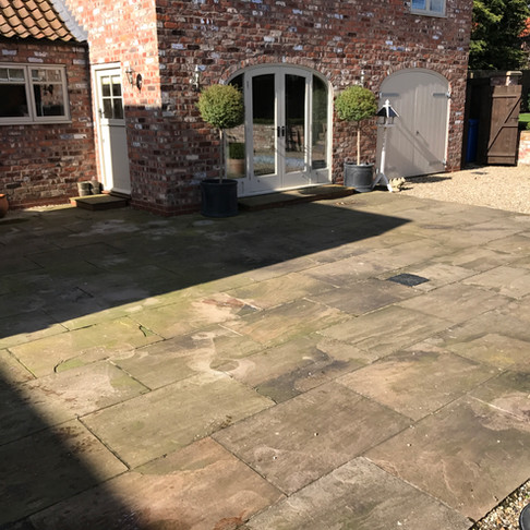 Patio Cleaning And Restoration In Leeds