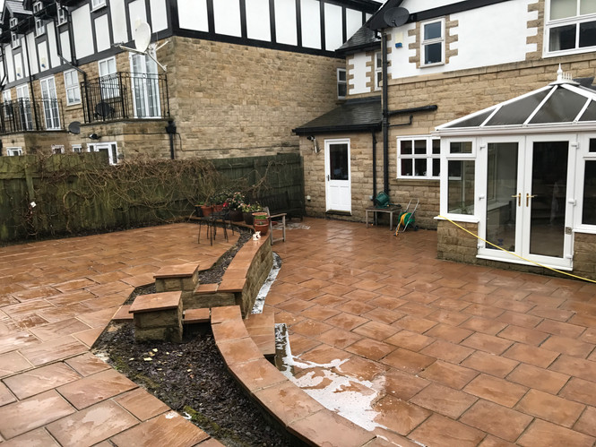 Driveway and Patio Cleaning in Ilkley Halifax, Skipton and York