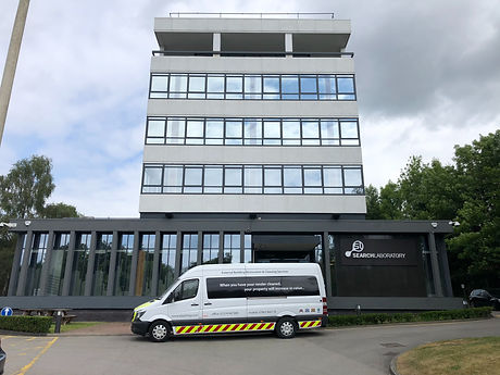 Commercial render cleaning in Yorkshire