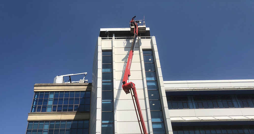 Cladding Cleaning - Glasgow, Edinburgh, Aberdeen, Dundee, Cumbria, London, Lancashire, Sheffield