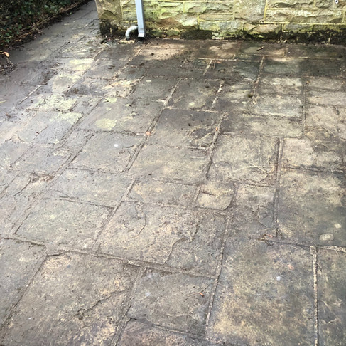 Patio & Roof Cleaning In Ilkley West Yorkshire.