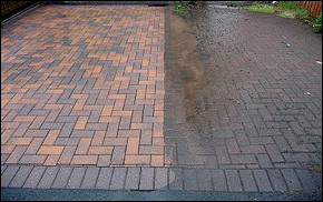 Domestic Services: Block Paving Cleaning