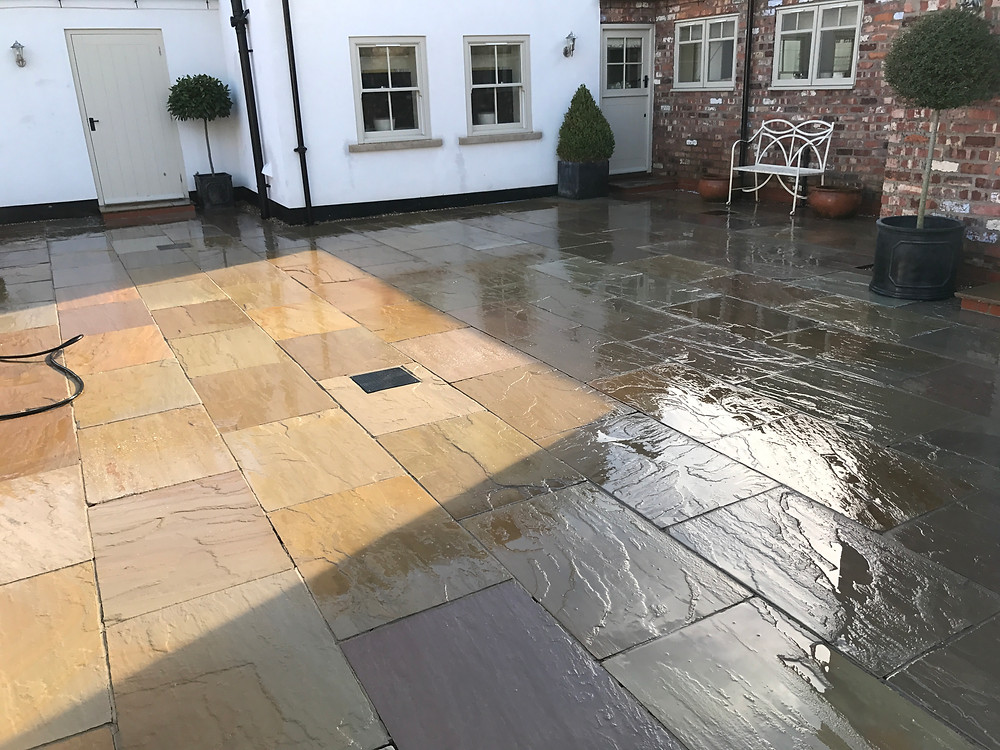 Patio Cleaning in Leeds
