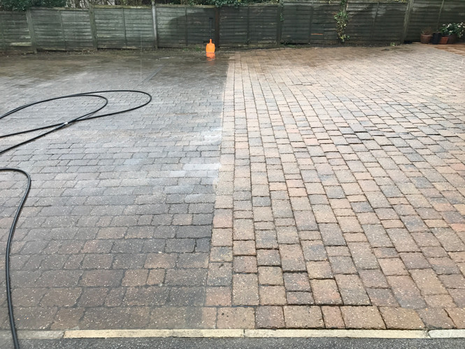Driveway and Patio Cleaning in Ilkley and York