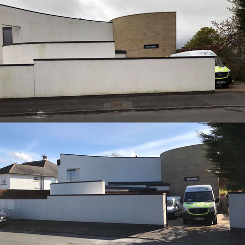 Render Cleaning Services in Harrogate Yorkshire