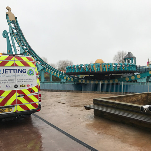 Specialist Cleaning at Flamingo Land Theme Park