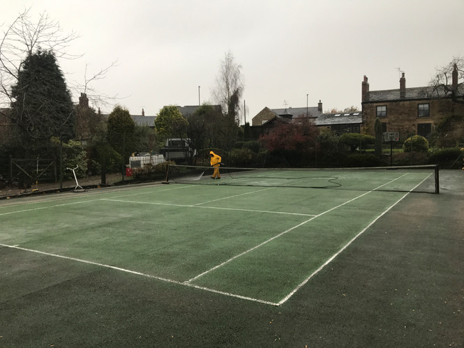 Cleaning and Maintaining Your Tennis Court