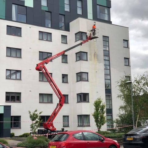 Render Cleaning - Glasgow, Edinburgh, Aberdeen, Dundee, Cumbria, London, Lancashire, Sheffield